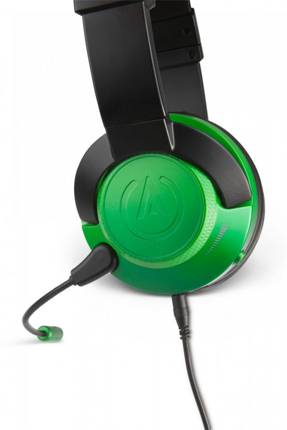 Fusion wired gaming headset emerald 3