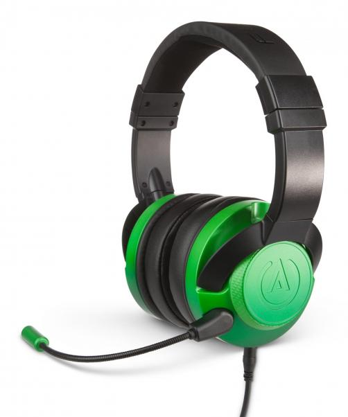 Fusion wired gaming headset emerald