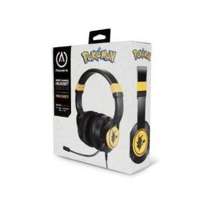 Fusion wired gaming headset pikachu for switch 1