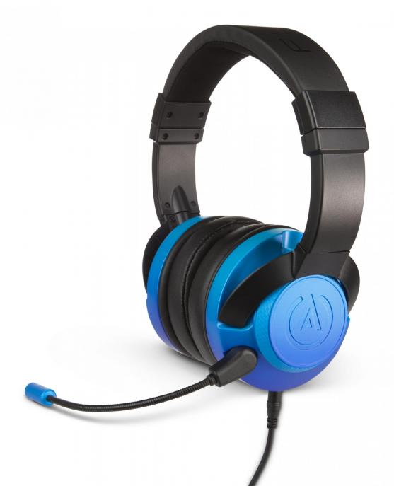 Fusion wired gaming headset sapphire