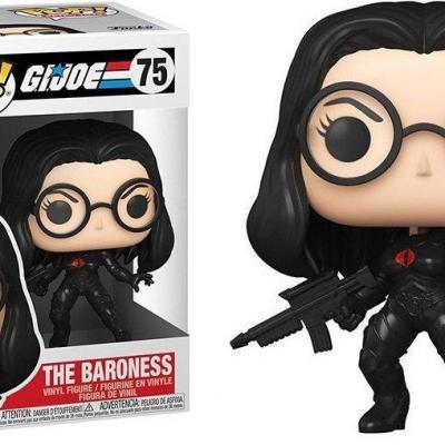 G i joe bobble head pop n 75 the baroness