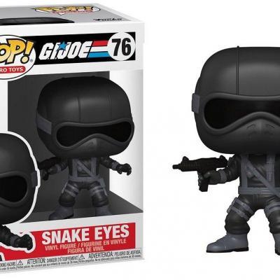 G i joe bobble head pop n 76 snake eyes