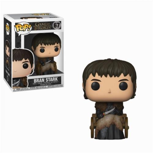 Game of thrones bobble head pop n 67 bran stark