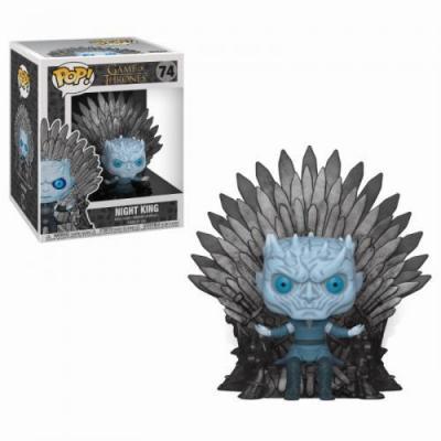 Game of thrones bobble head pop n 74 night king throne oversize