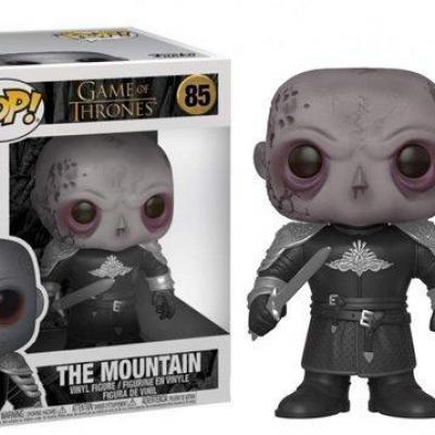 Game of thrones bobble head pop n 85 mountain unmasked oversize