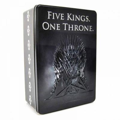 Game of thrones boite metal 16 x 24 x 8 five kings