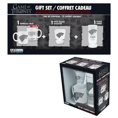 Game of thrones coffret cadeau verre shooter mini mug