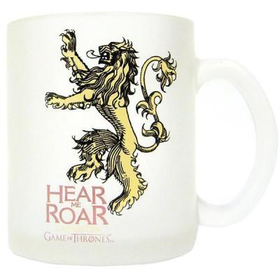 Game of thrones mug lannister translucent