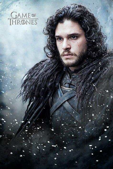 Game of thrones poster 61x91 jon snow