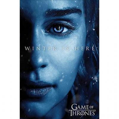 Game of thrones poster 61x91 winter is here daenerys 1