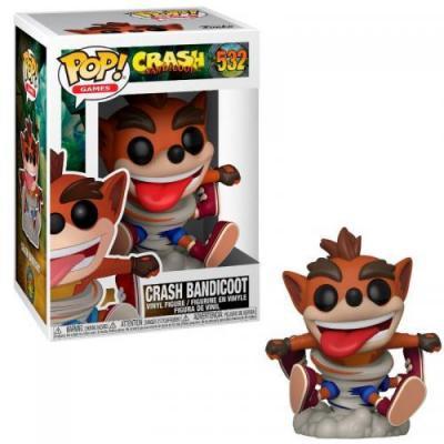 Games bobble head pop n 532 crash bandicoot crash bandicoot