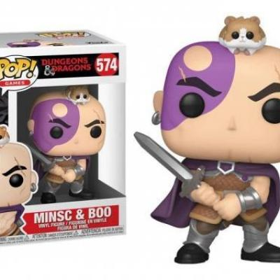 Games bobble head pop n 574 dungeons and dragons minsc and boo