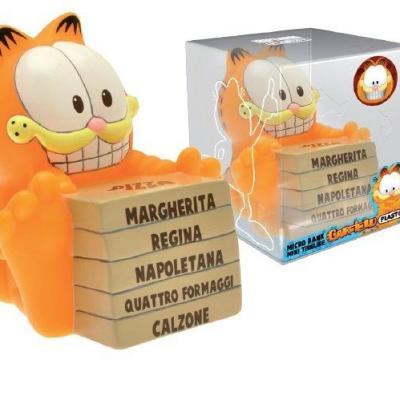 Garfield mini tirelire pizza 10cm