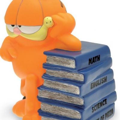 Garfield tirelire livres 18cm