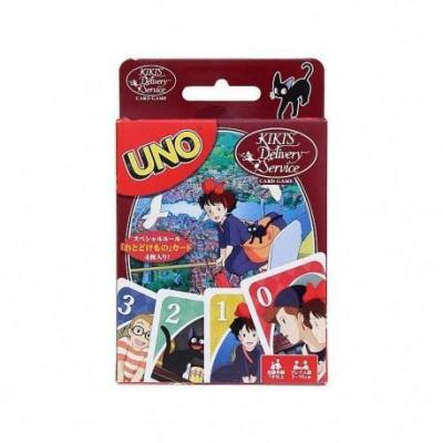Ghibli kiki la petite sorciere uno jeu de cartes a jouer