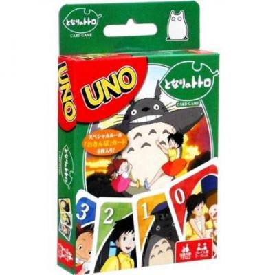 Ghibli mon voisin totoro uno jeu de cartes a jouer