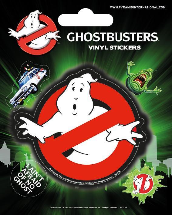 Ghostbuster vinyl stickers logo