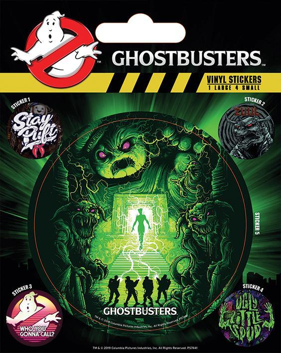 Ghostbusters ghosts and ghouls stickers en vinyle