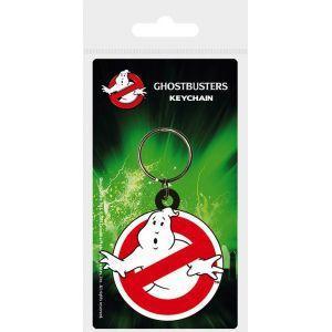 Ghostbusters porte cles caoutchouc logo 1