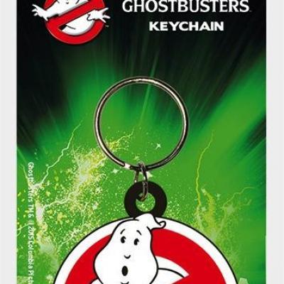 Ghostbusters porte cles caoutchouc logo
