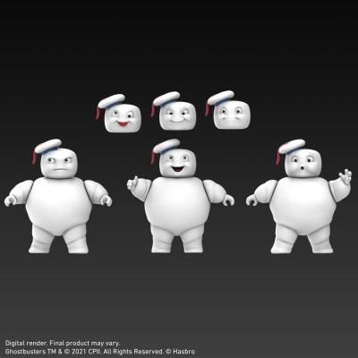 Ghostbusters stay puft figurines mini pufts plasma series