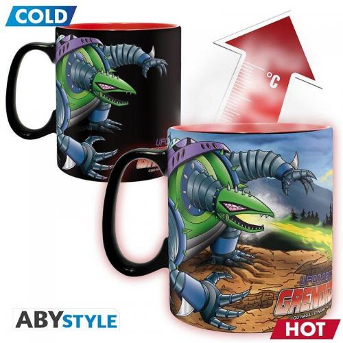 Goldorak goldorak vs giru mug thermoreactif 460ml 1