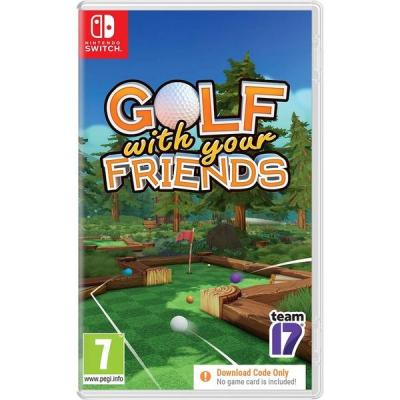 Golf with your friends code in box