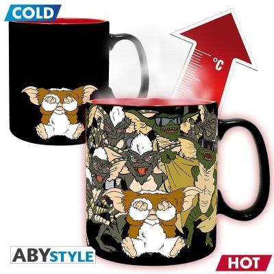 Gremlins ne pas mouiller mug thermoreactif 460 ml