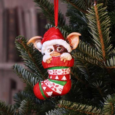 Gremlins santa gizmo chaussette decoration de noel 12cm