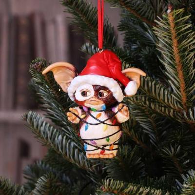Gremlins santa gizmo guirlande decoration de noel 12cm