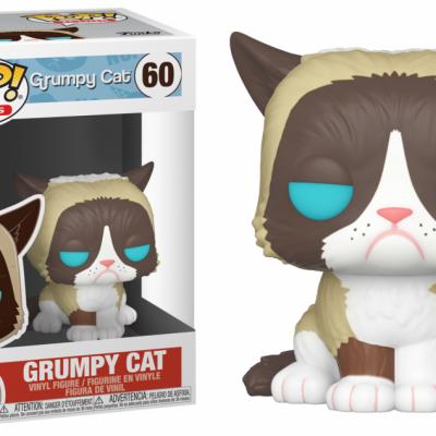Grumpy cat bobble head pop n 60 grumpy cat
