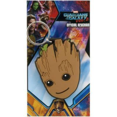 Guardians of the galaxy 2 porte cles caoutchouc baby groot