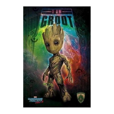 Guardians of the galaxy 2 poster 61x91 i am groot