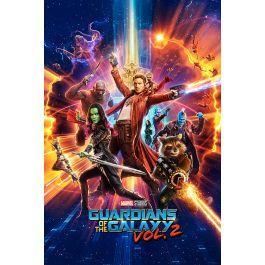 Guardians of the galaxy 2 poster 61x91 one sheet