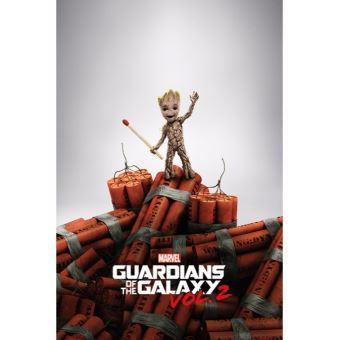 Guardiens of the galaxy 2 poster 61x91 groot dynamite