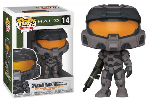 Halo infinite bobble head pop n 14 mark vii w commando rifle