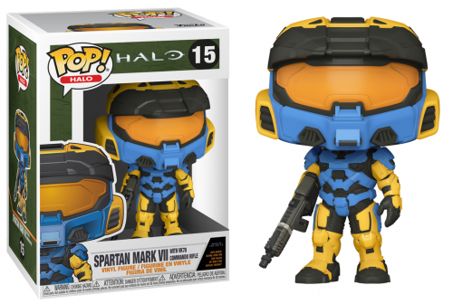 Halo infinite bobble head pop n 15 mk vii w commando rifle funko