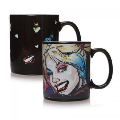 Harley quinn mad love mug thermoreactif 400 ml