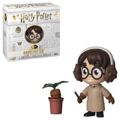 Harry potter 5 star vinyl figure 8 cm harry herbology
