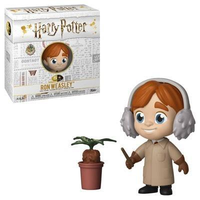 Harry potter 5 star vinyl figure 8 cm ron herbology