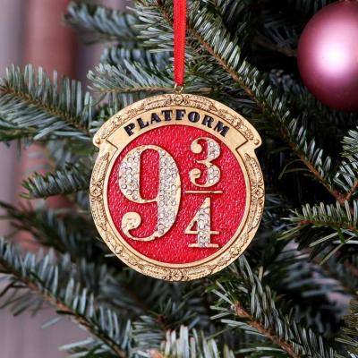 Harry potter 9 3 4 decoration de noel 8 2cm