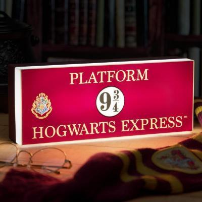 Harry potter 9 3 4 lampe 30x14cm 1