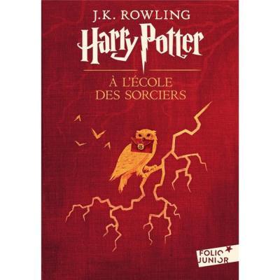 Harry potter a l ecole des sorciers folio junior tome 1