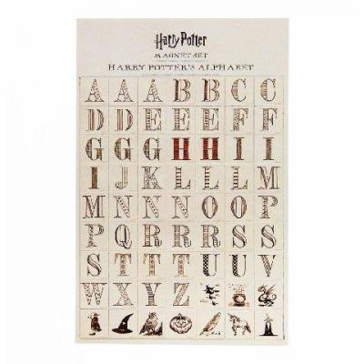 Harry potter alphabet harry potter lot de magnets