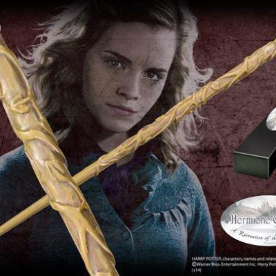 Harry potter baguette de hermione granger etudiant