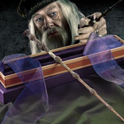 Harry potter baguette ollivander albus dumbledore