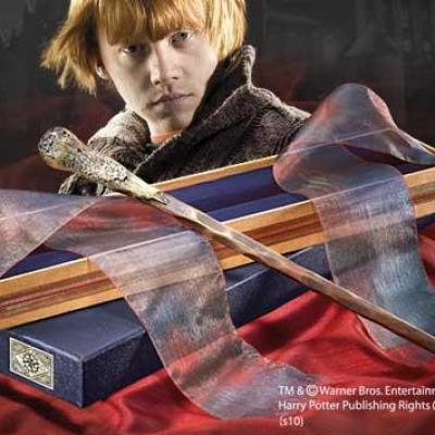 Harry potter baguette ollivander ron weasley