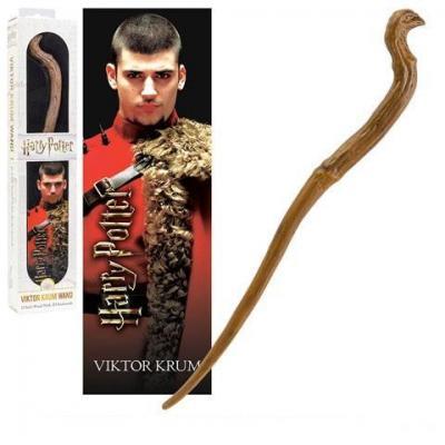 Harry potter baguette pvc viktor krum 30cm marque page 3d