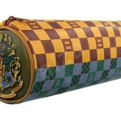 Harry potter barrel pencil case house crests