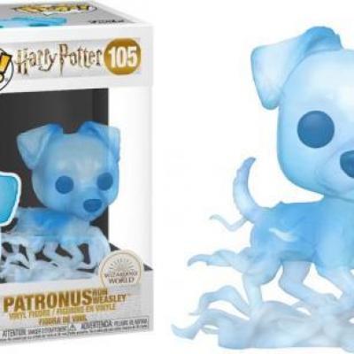 Harry potter bobble head pop n 105 patronus ron